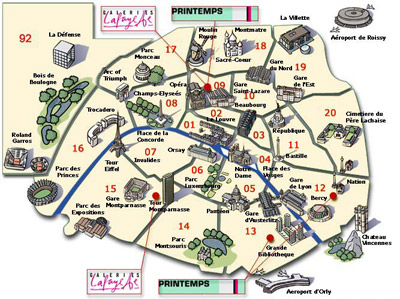 Geography of Paris - Architecture of Paris city