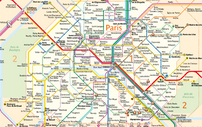 paris city card